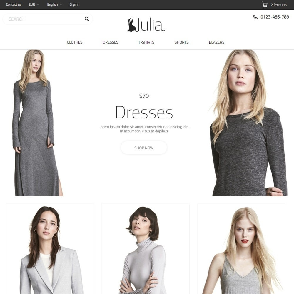 theme - Moda & Calzature - Julia Fashion Store - 2