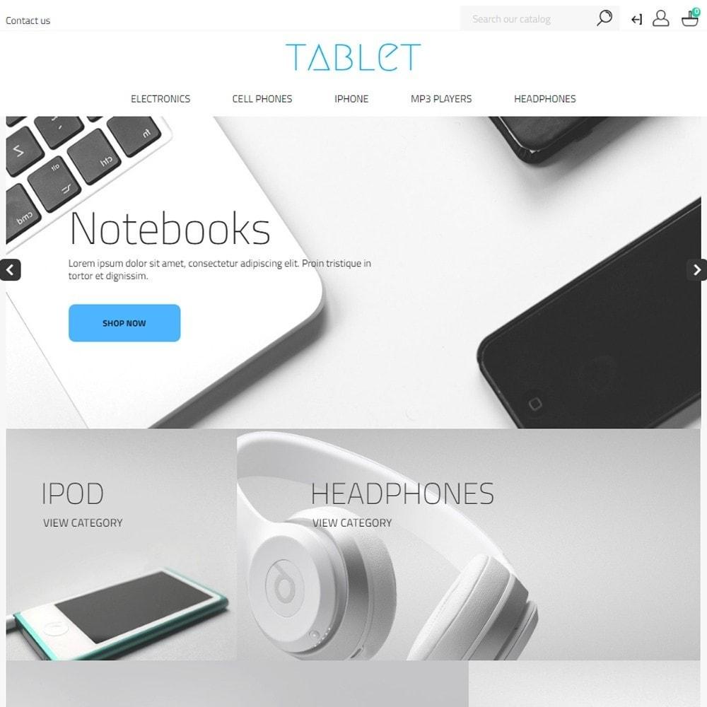 theme - Eletrônicos & High Tech - Tablet - Electronics High-tech Shop - 2
