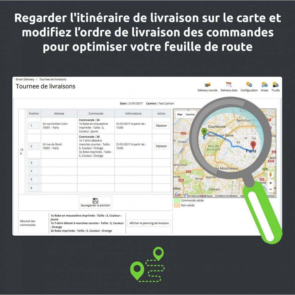 module - Transporteurs - SmartDelivery : gestion transport/tournées de livraison - 10