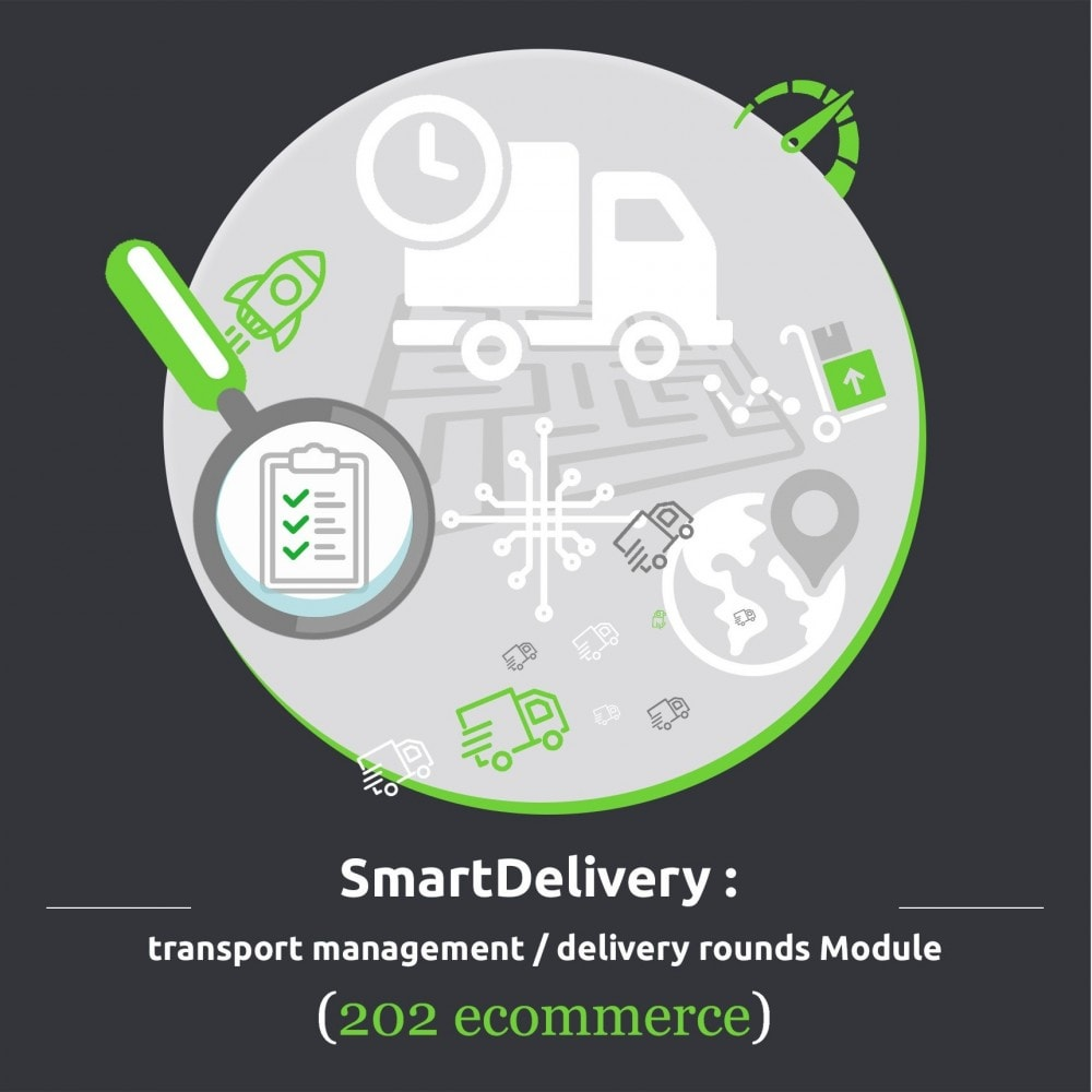 module - Shipping Carriers - SmartDelivery: transport management / delivery rounds - 1