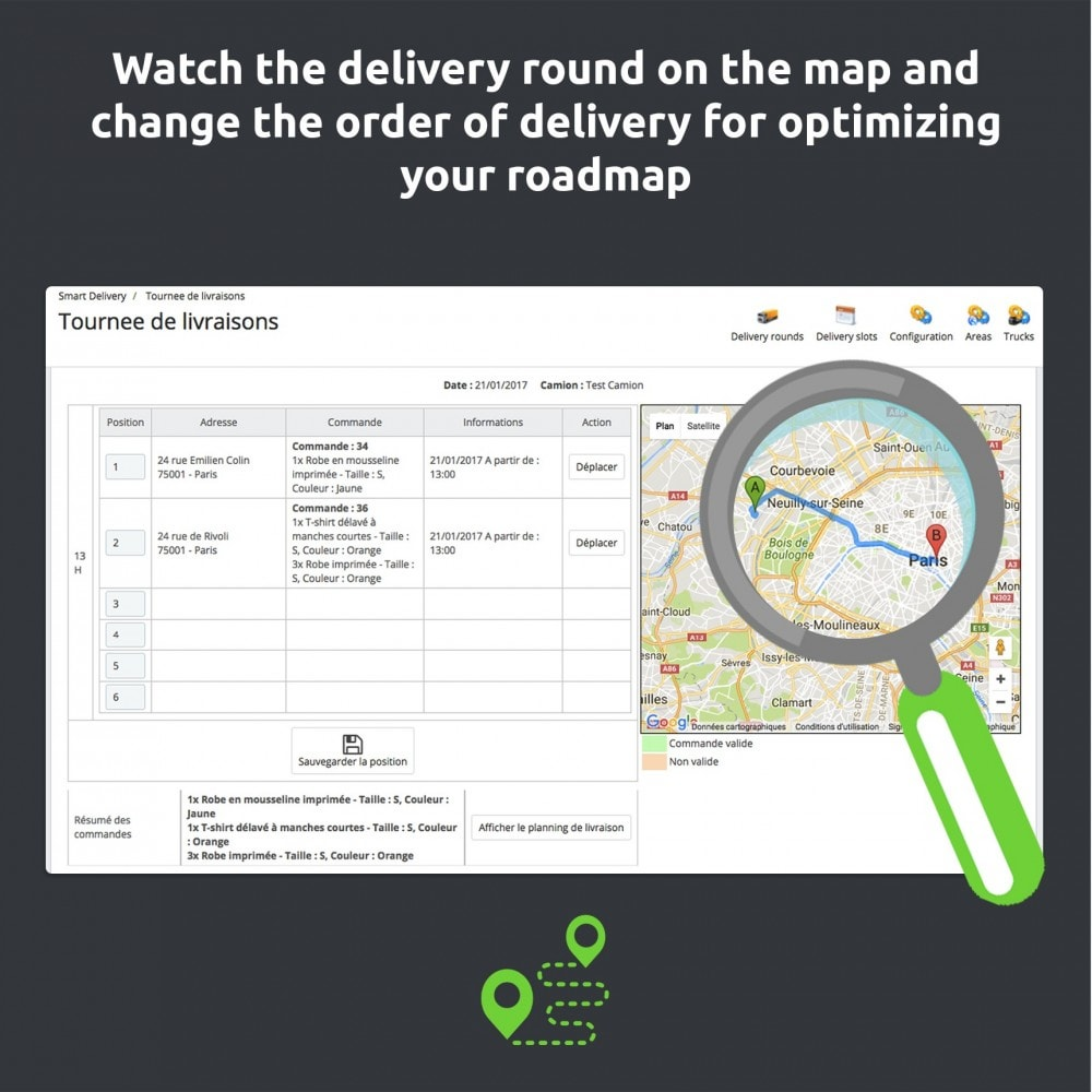 module - Vervoerder - SmartDelivery: transport management / delivery rounds - 10