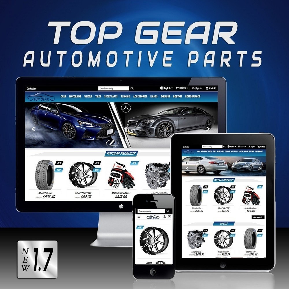 theme - Auto & Moto - Top Gear - Automotive Parts - 1