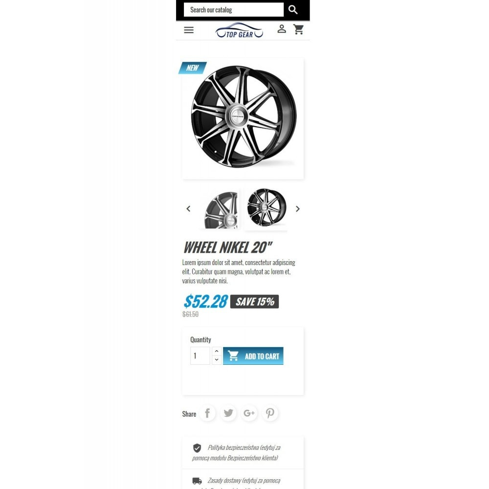 theme - Auto & Moto - Top Gear - Automotive Parts - 7