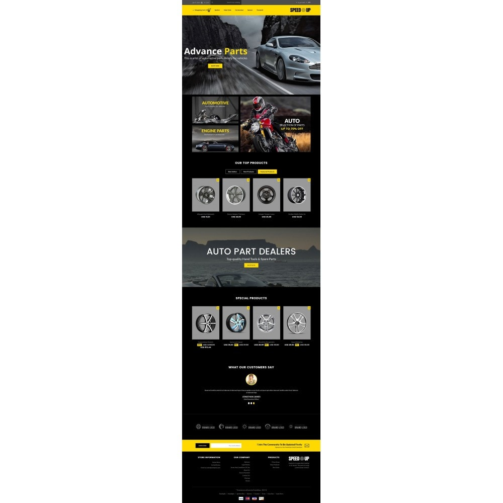theme - Carros & Motos - SpeedUp Auto Store - 6