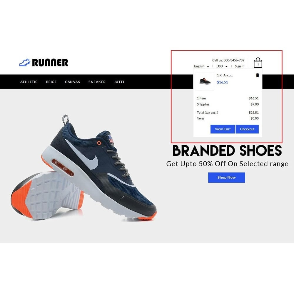 theme - Мода и обувь - Runner Shoes Store - 8