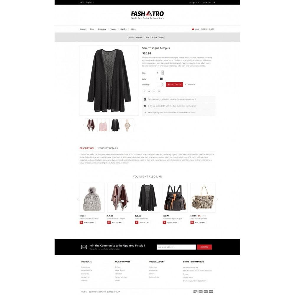 theme - Moda & Calzature - Fashtro - Online Fashion Store - 5
