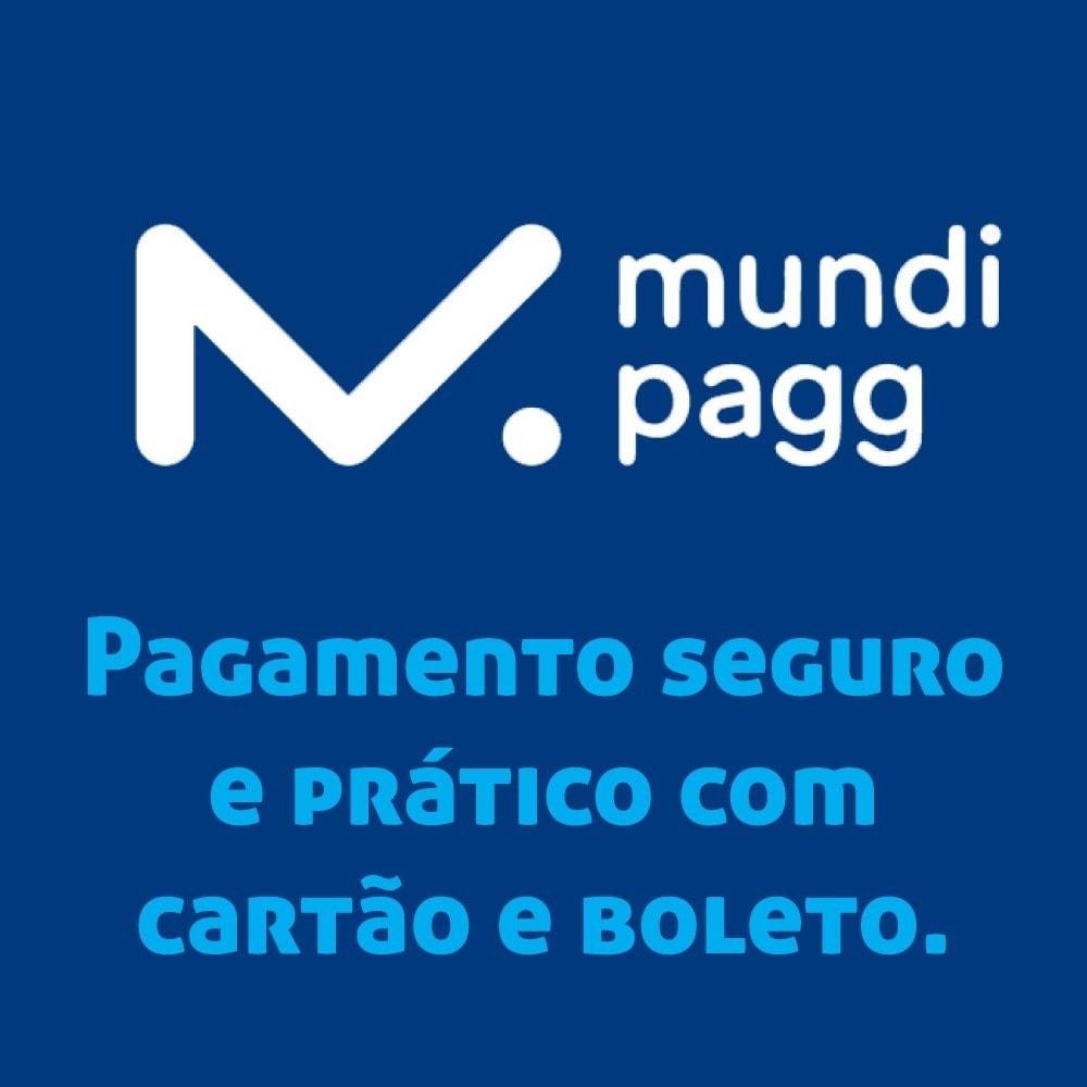 module - Pagamento por cartão ou por carteira - Mundipagg - 1