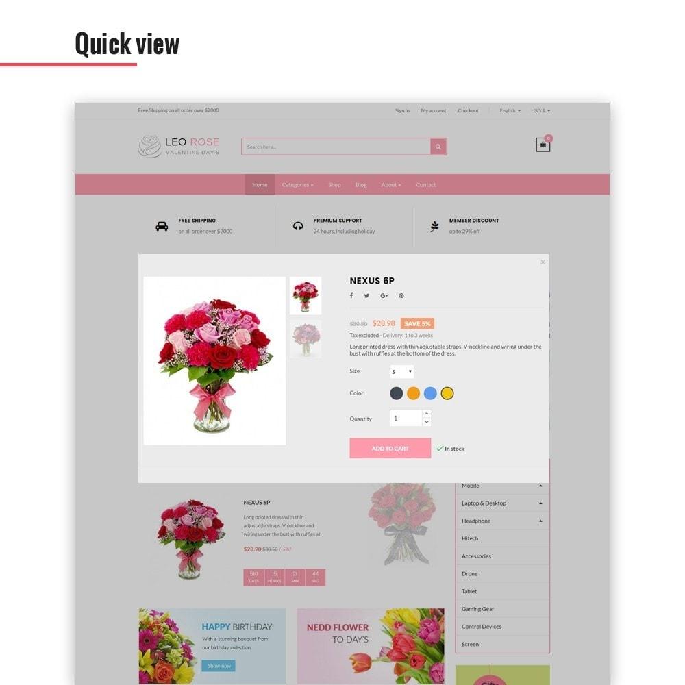 theme - Geschenke, Blumen & Feiern - Leo Rose - 5