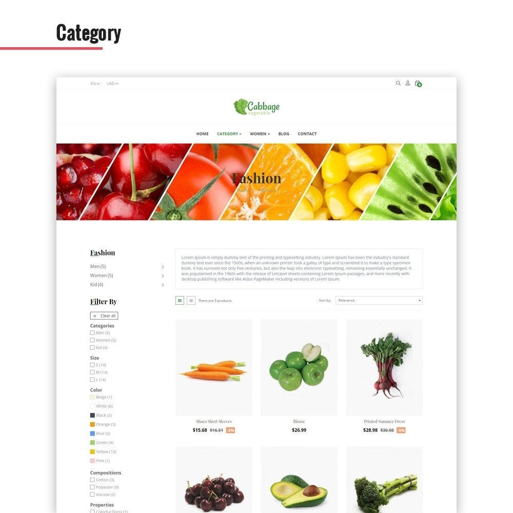 theme - Lebensmittel & Restaurants - Leo Cabbage - 2