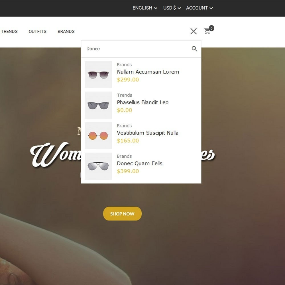 theme - Fashion & Shoes - Goggles Store - 7