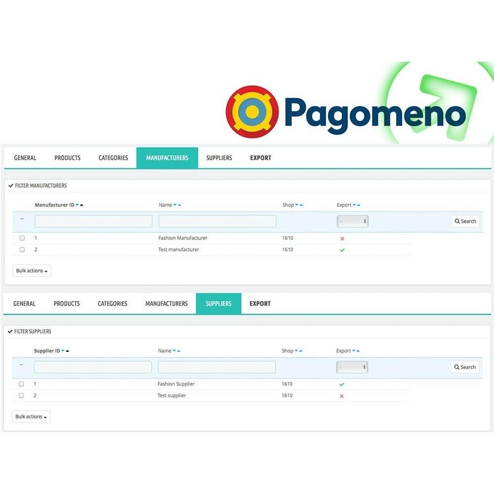 module - Comparatori di prezzi - Esporta Prodotti per Pagomeno con filtri avanzati - 5