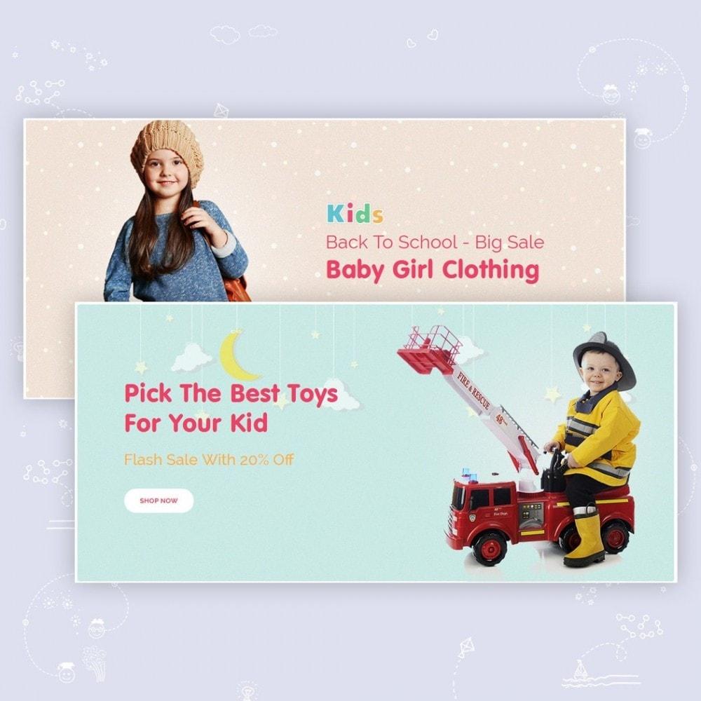 theme - Crianças & Brinquedos - JMS Kids - 2
