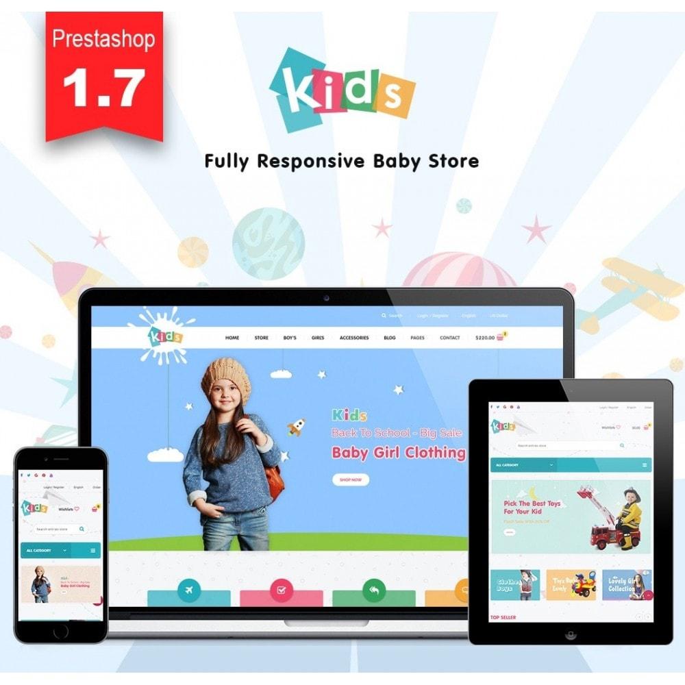 theme - Niños y Juguetes - JMS Kids 1.7 - 1