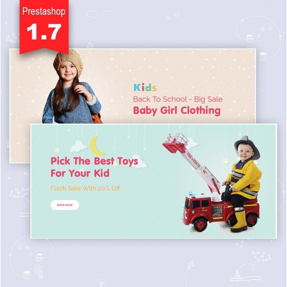 theme - Crianças & Brinquedos - JMS Kids II - 3