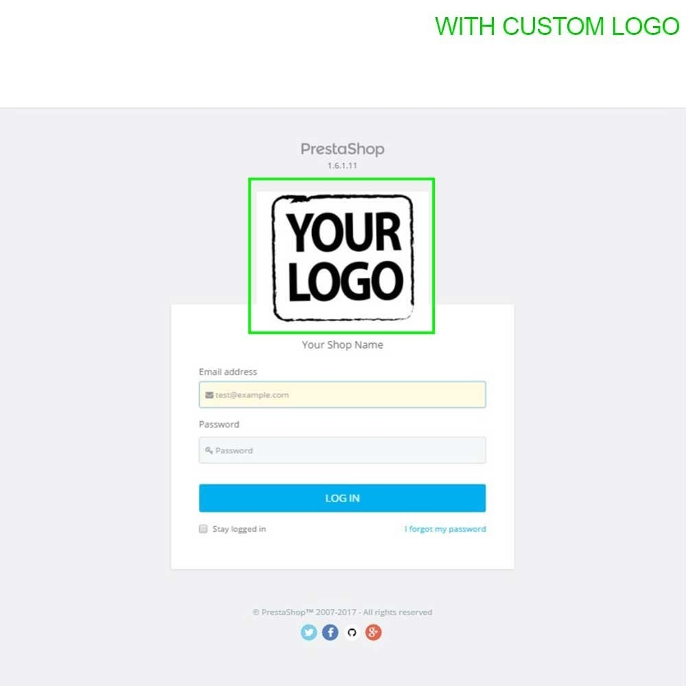 module - Administrationstools - Admin Login Page Customization - 14