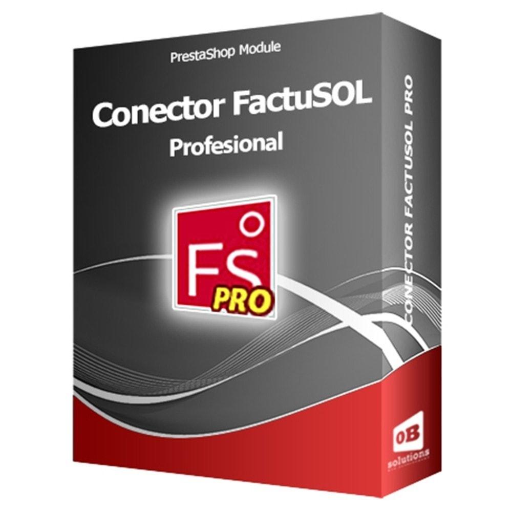 module - Integración con CRM, ERP... - Conector FactuSOL PROFESIONAL - 1