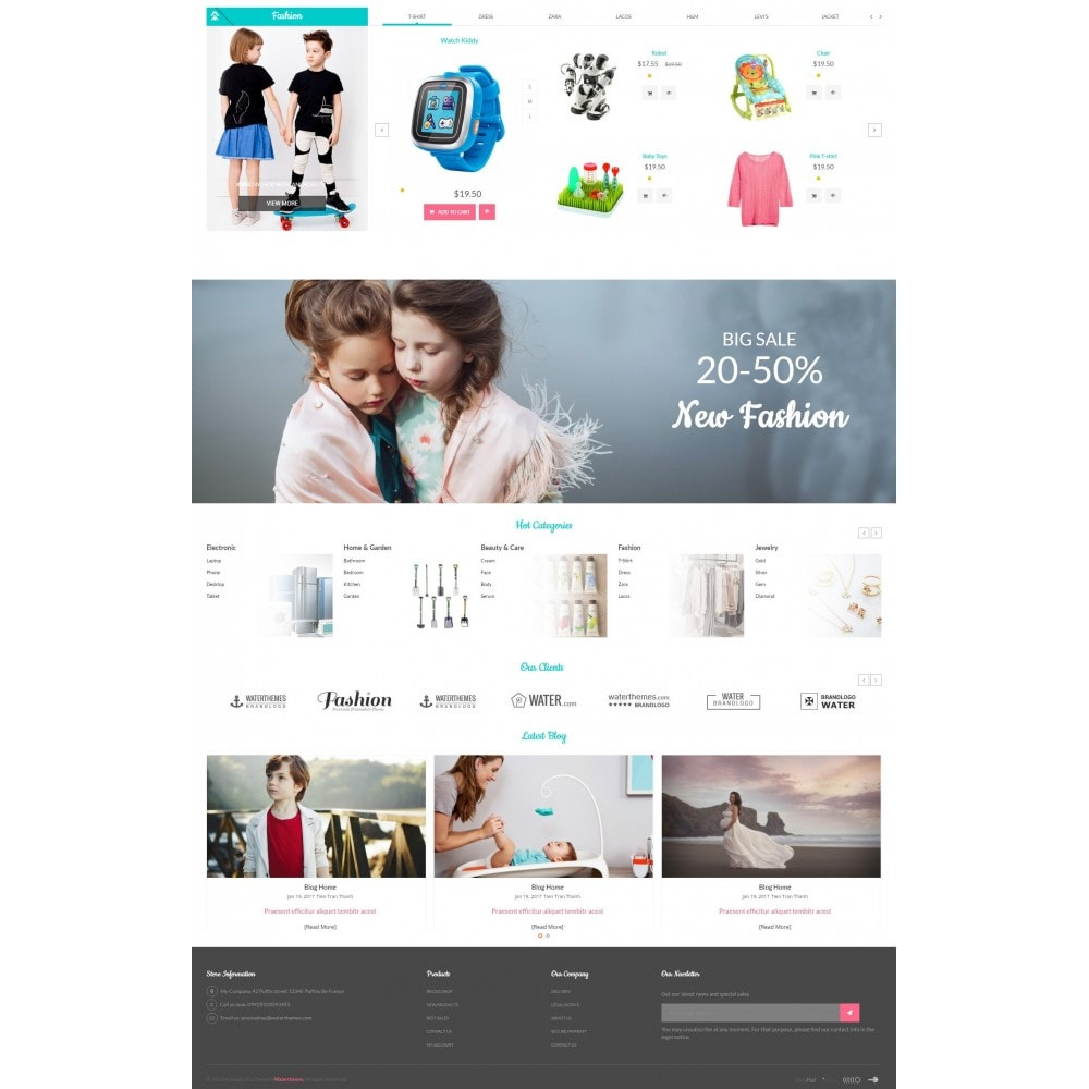theme - Kids & Toys - MomBaby Kids Store - 3