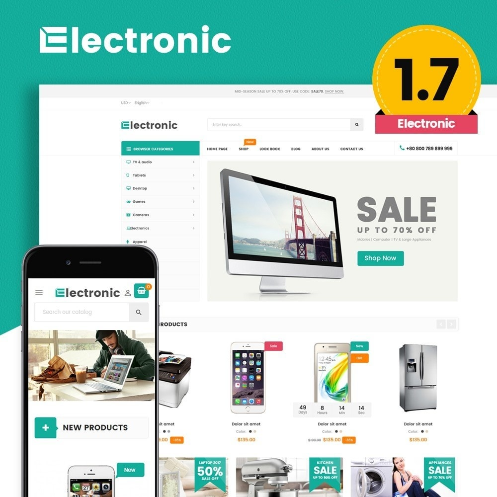 theme - Eletrônicos & High Tech - High-Tech Supermarket - 1
