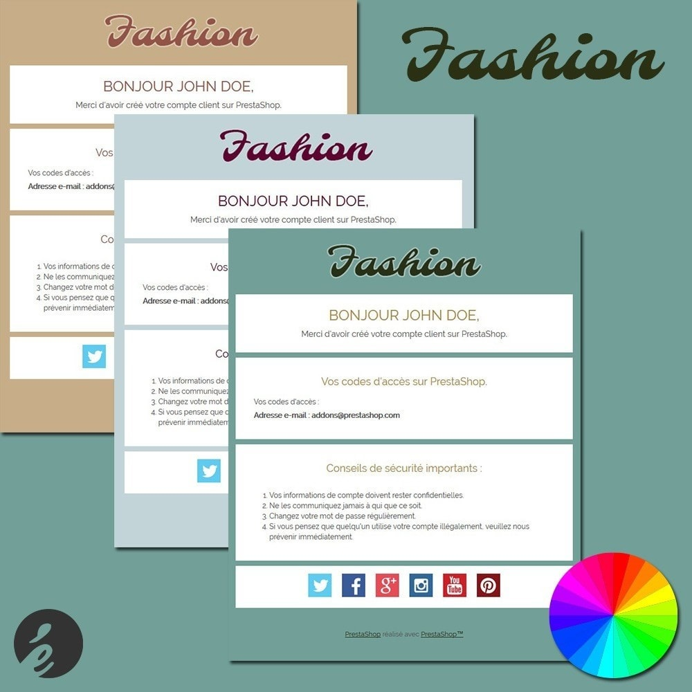 email - PrestaShop-E-Mail-Vorlagen - Fashion - 1