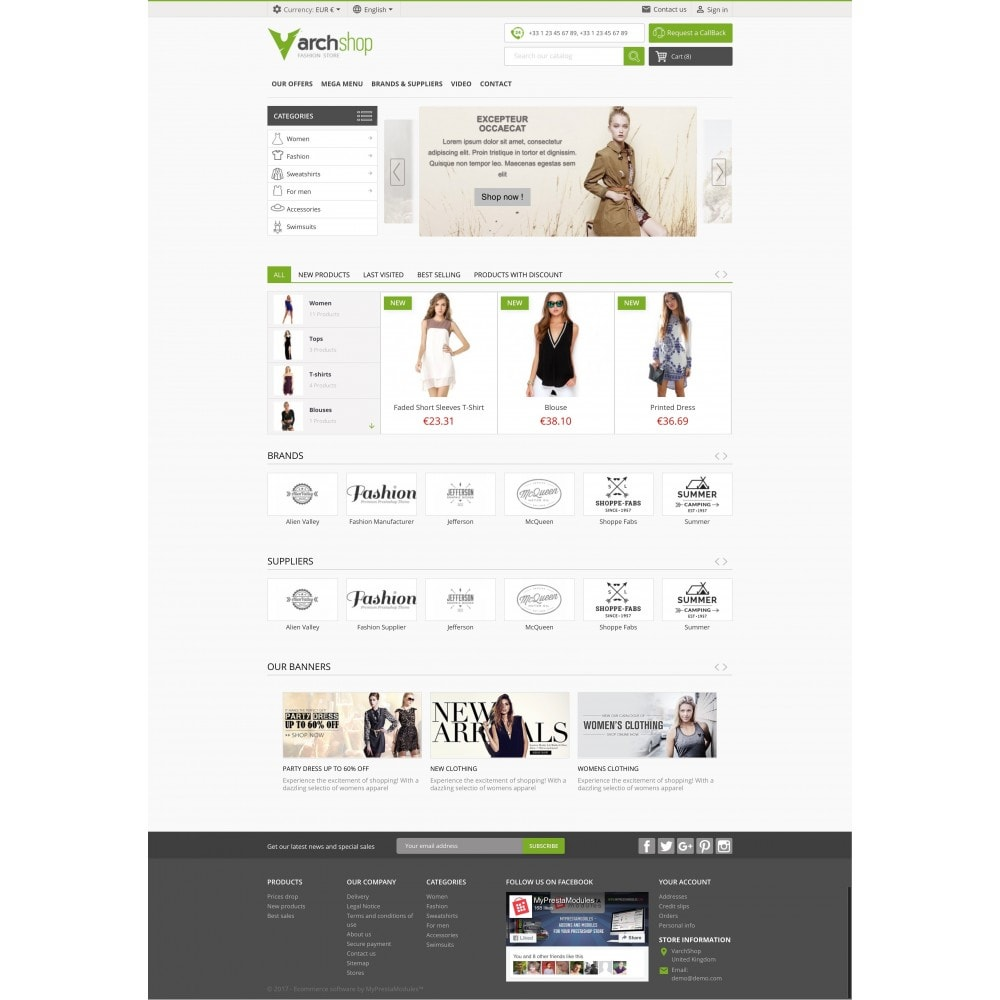 theme - Fashion & Shoes - Varchshop Lite - 2