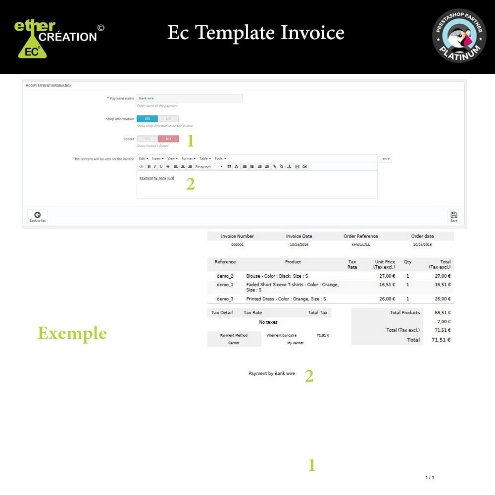 module - Contabilità & Fatturazione - Manage invoices based on sales sources - 4