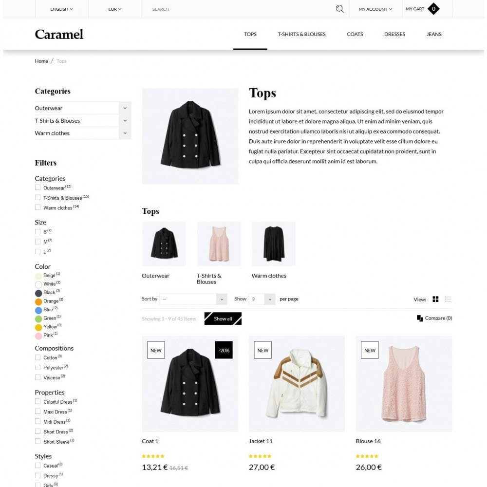 theme - Moda & Calzature - Caramel Fashion Store - 4