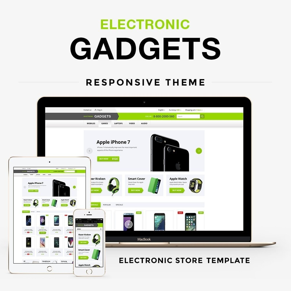 theme - Elettronica & High Tech - Electronic gadgets - 1