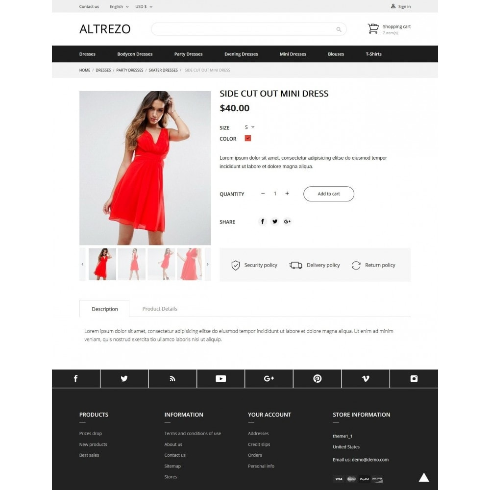 theme - Мода и обувь - Altrezo Fashion Store - 6