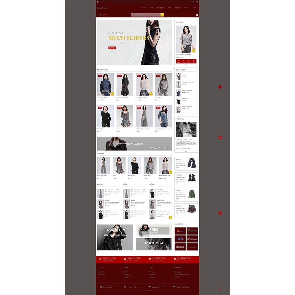theme - Мода и обувь - Lasia Fashion Store - 5