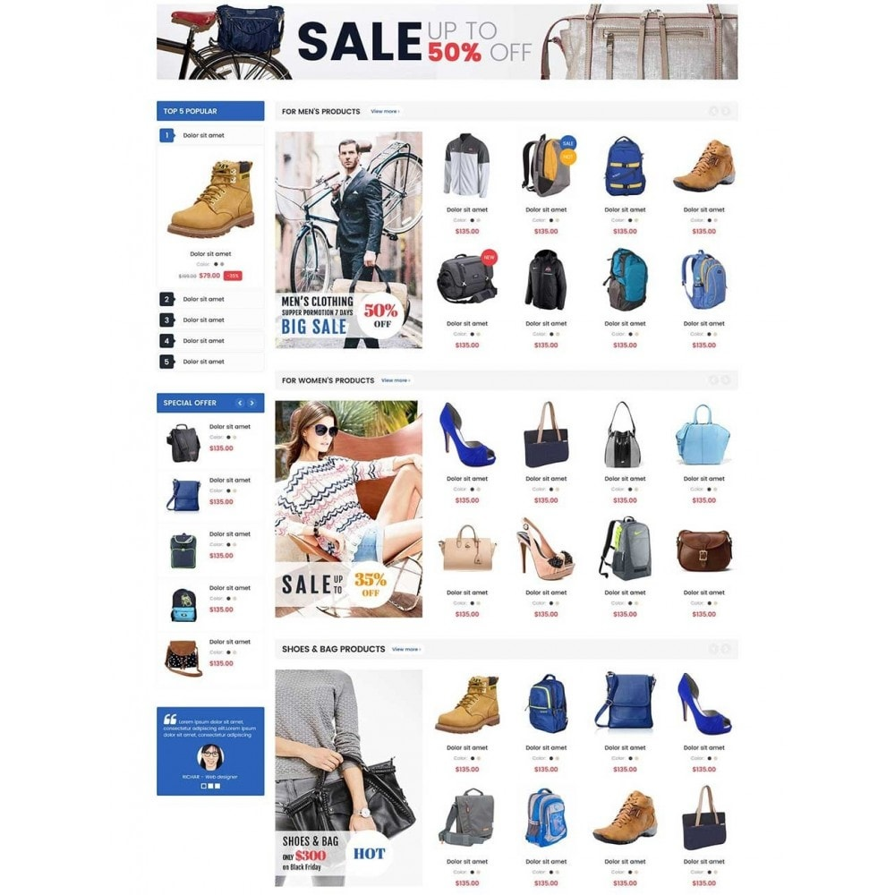 theme - Мода и обувь - Emart Fashion - 3
