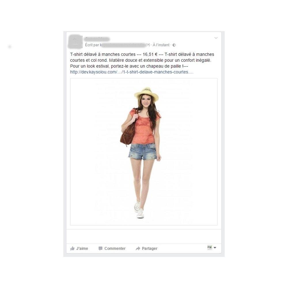 module - Produits sur Facebook & réseaux sociaux - Auto Post Products to Facebook and Twitter Network - 3