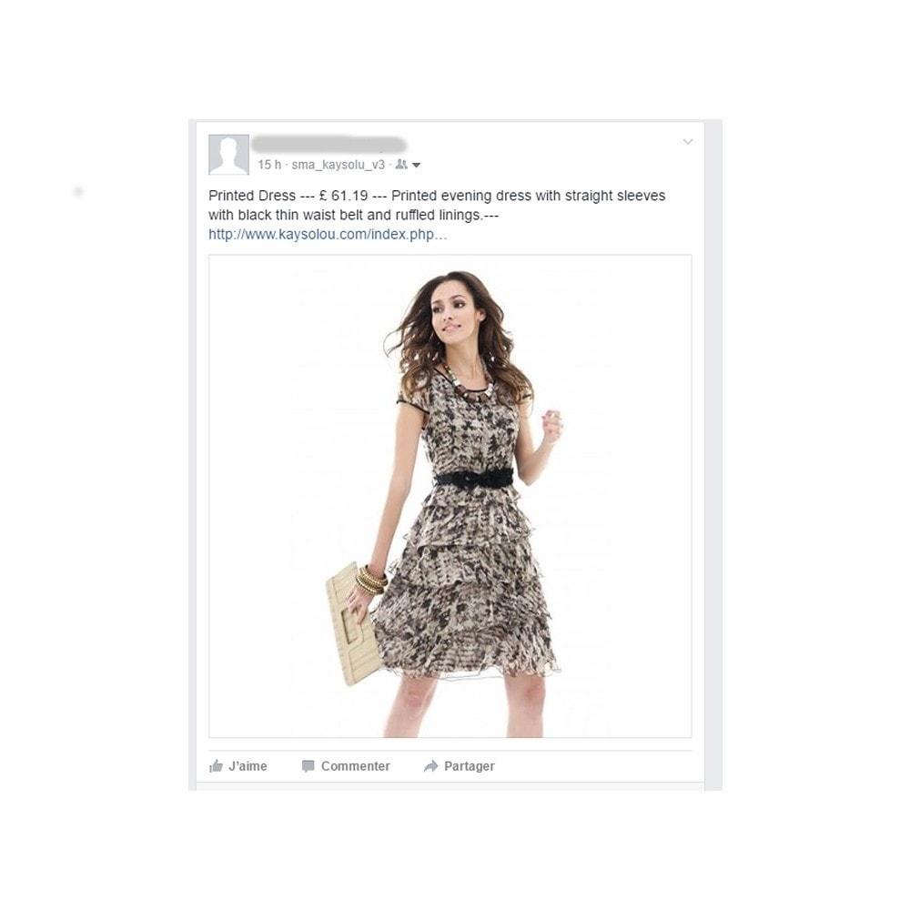 module - Produits sur Facebook & réseaux sociaux - Auto Post Products to Facebook and Twitter Network - 7