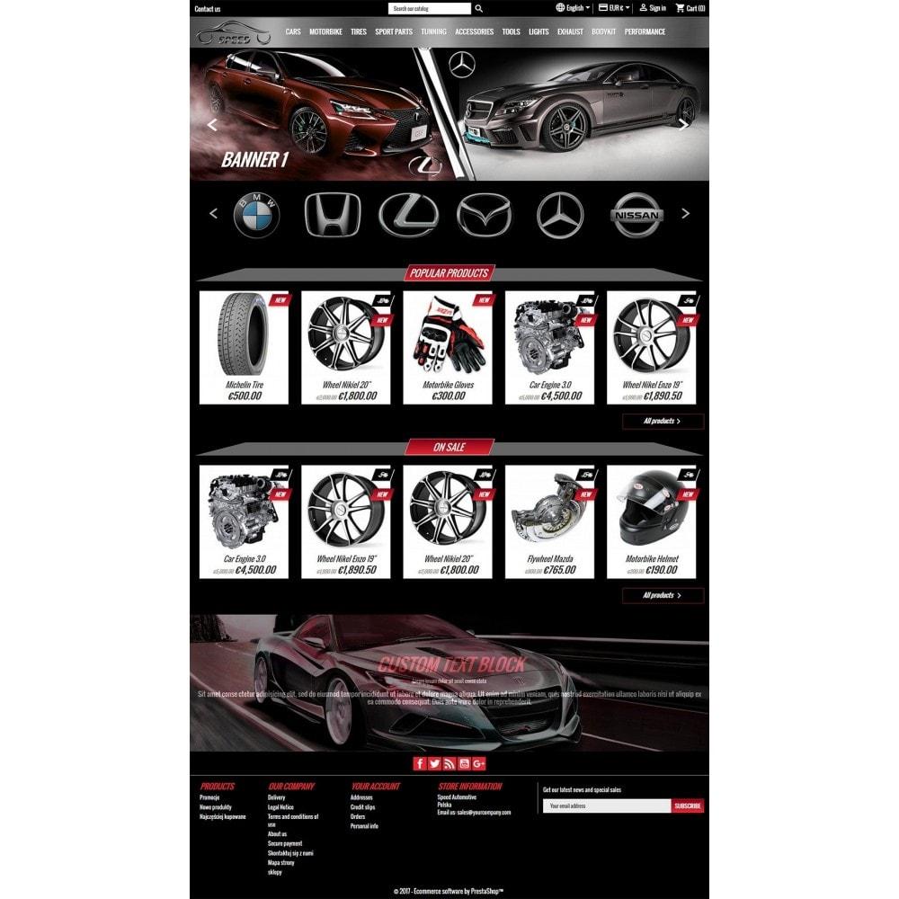 theme - Samochody - Prędkość - Sklep Motoryzacyjny - 3