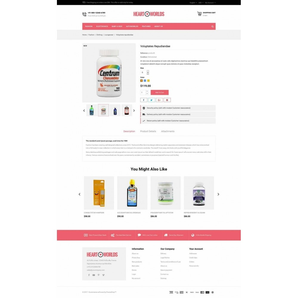 theme - Health & Beauty - Heart World Store - 5