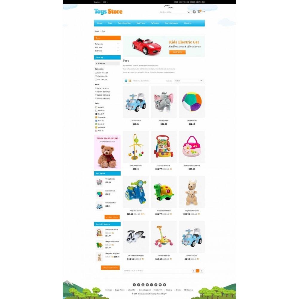 theme - Zabawki & Artykuły dziecięce - Toys Online Store - 3
