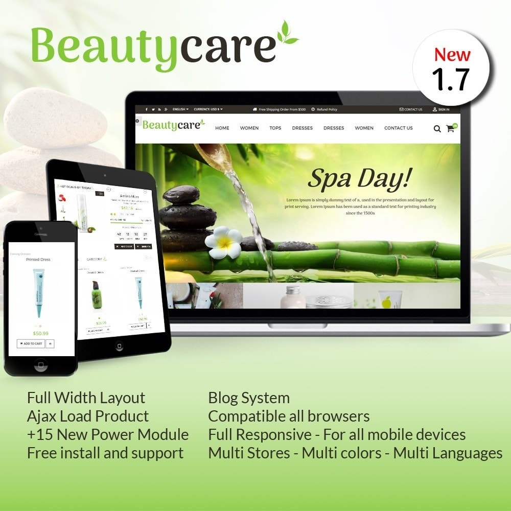 theme - Salud y Belleza - Beauty Care Bio Medical - 1