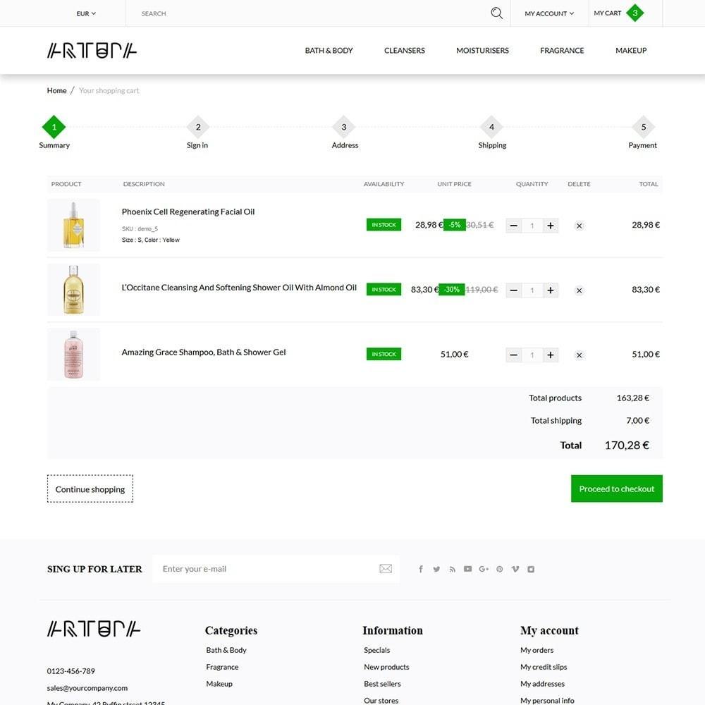 theme - Здоровье и красота - Artupa Cosmetics - 6