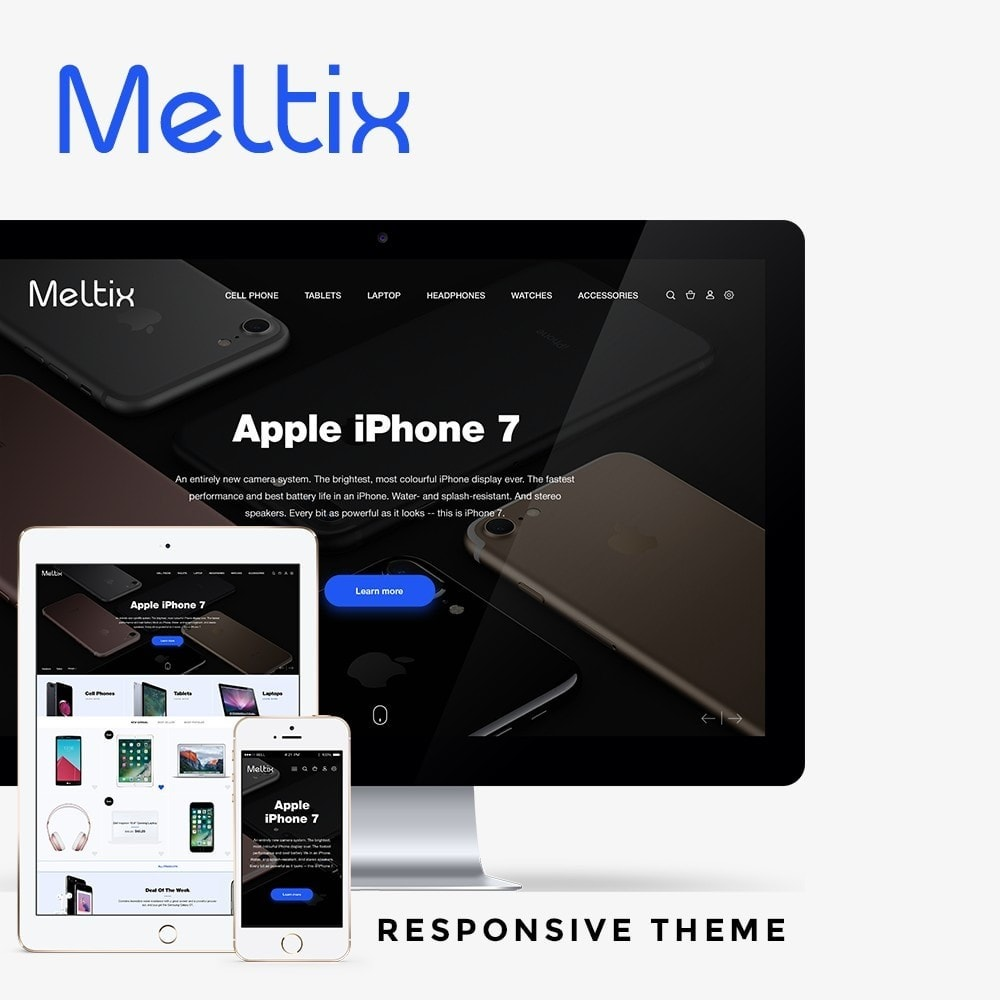 theme - Electronics & Computers - Meltix - High-tech Shop - 1