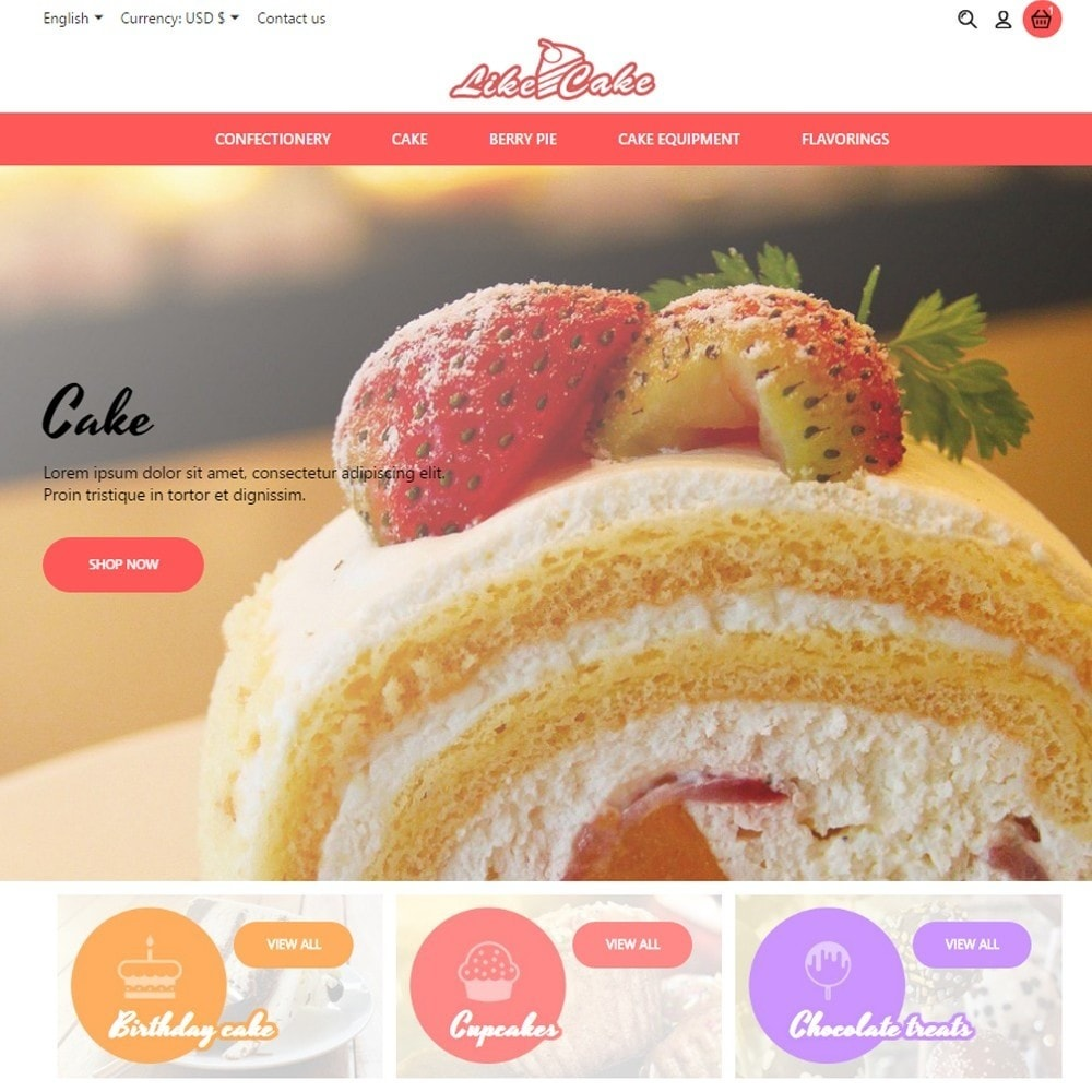 theme - Lebensmittel & Restaurants - Like Cake - 2