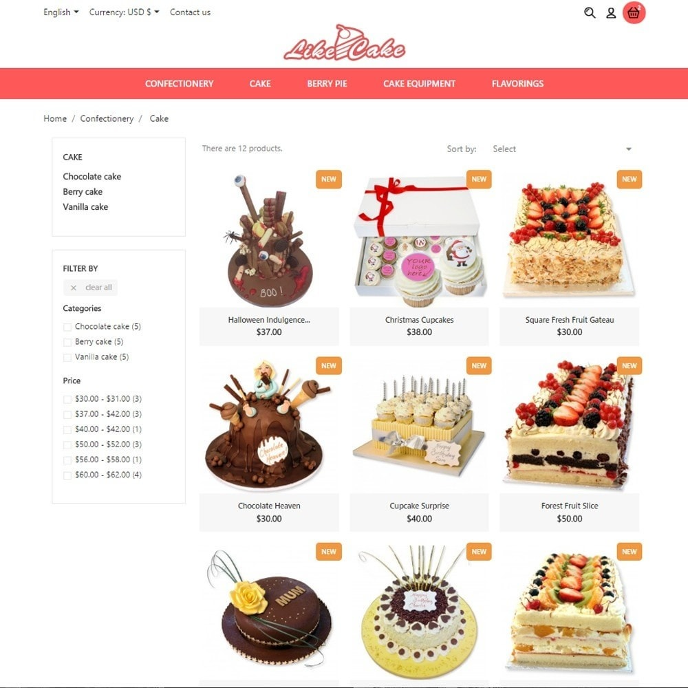 theme - Lebensmittel & Restaurants - Like Cake - 6