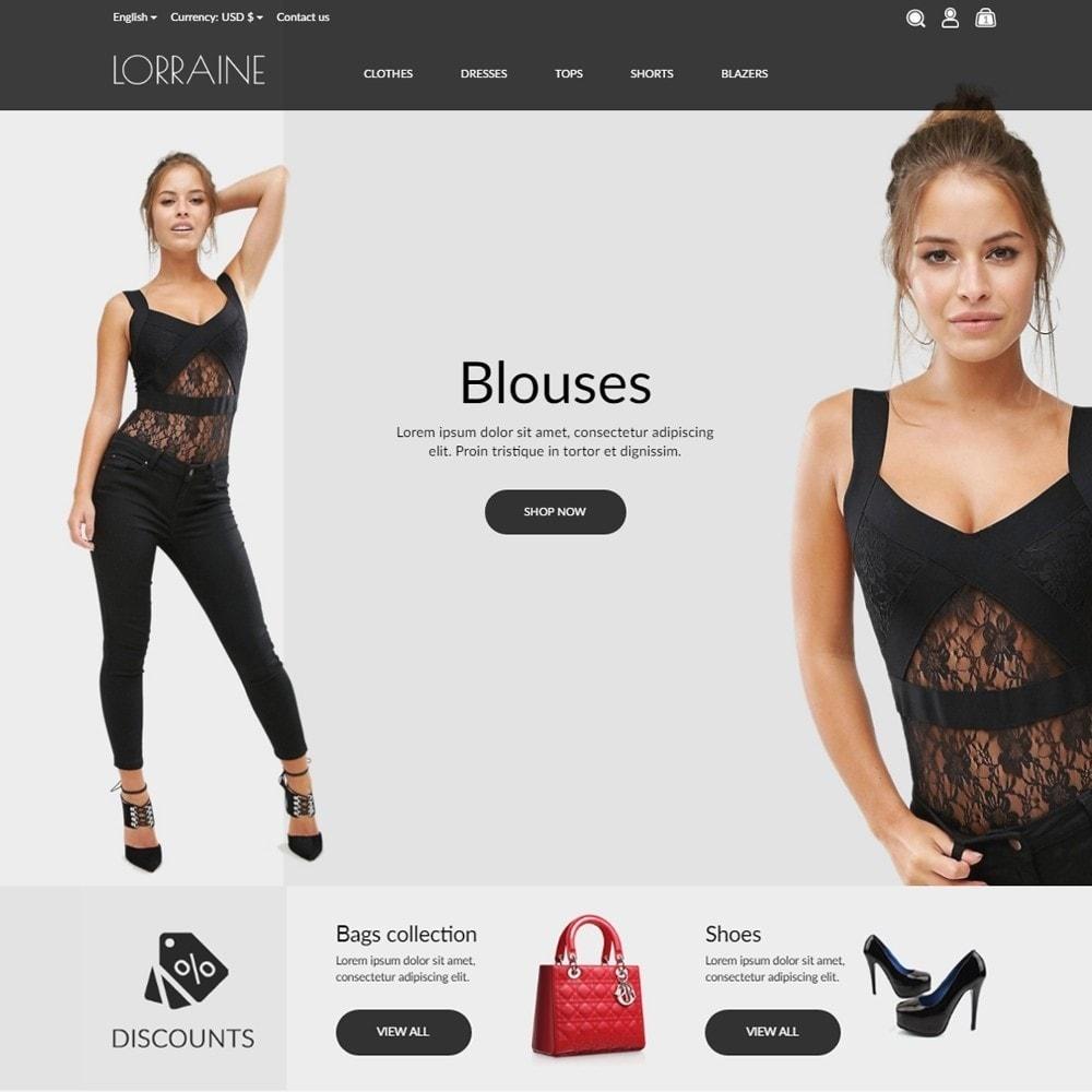 theme - Fashion & Shoes - Lorraine Fashion Store - 2