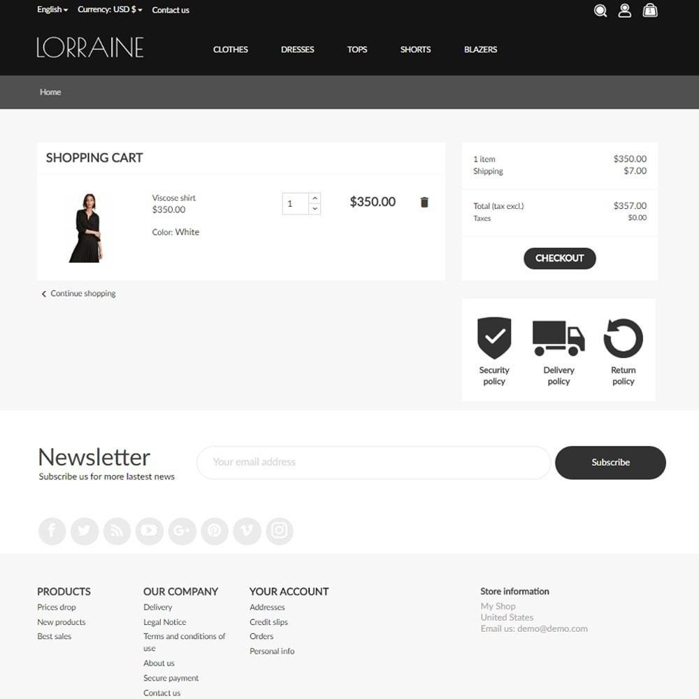 theme - Fashion & Shoes - Lorraine Fashion Store - 8