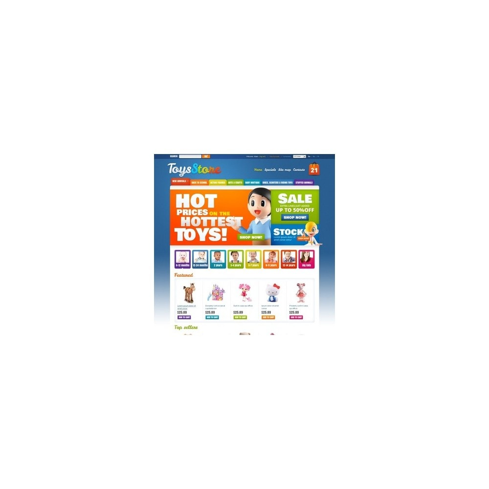 theme - Thèmes PrestaShop - Toys for Kids - 5