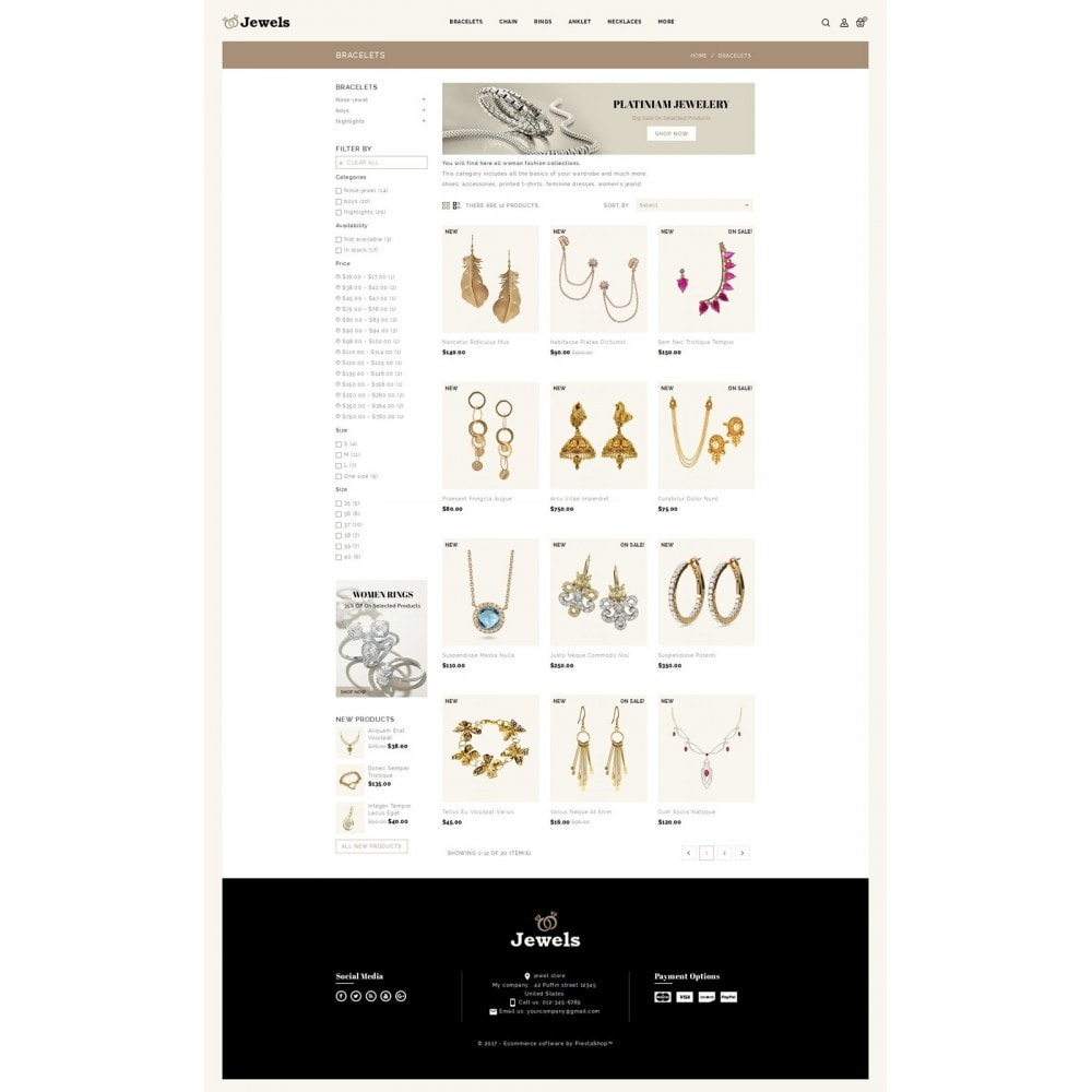 theme - Jewelry & Accessories - Jewels & Fashion Store - 3