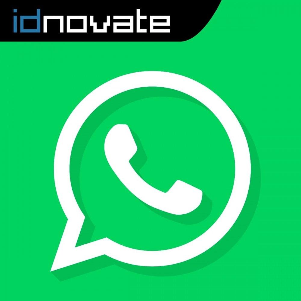 module - Wsparcie & Czat online - WhatsApp Live Chat With Customers et WhatsApp Business - 1