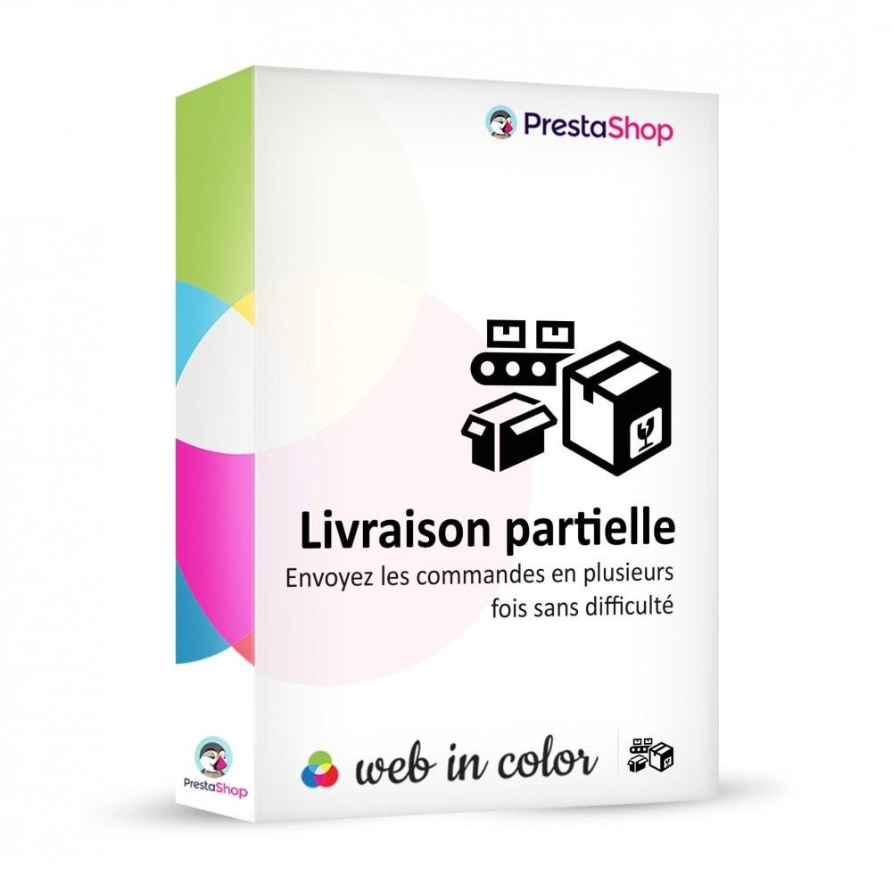 module - Préparation & Expédition - Livraison partielle - 1