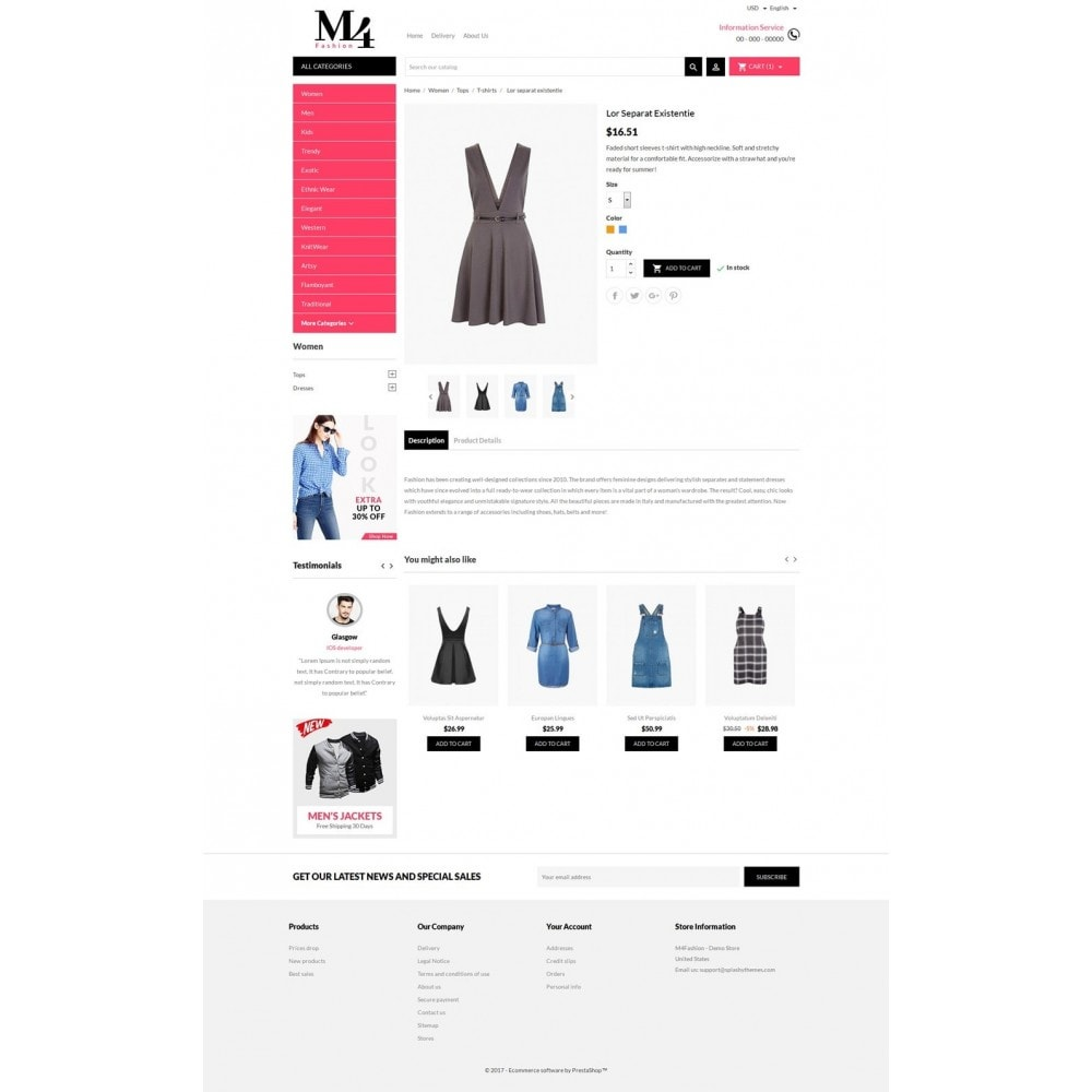 theme - Mode & Chaussures - M4 Fashion Store - 5