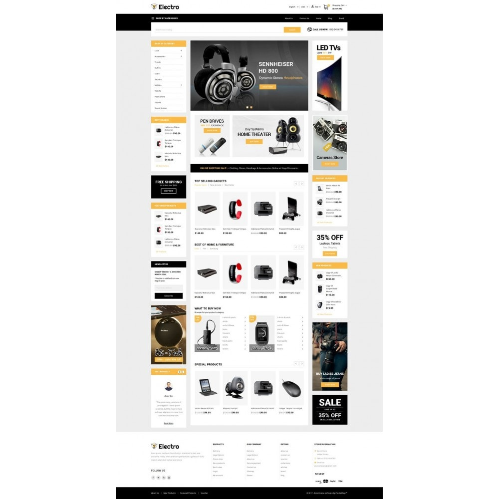 theme - Elektronika & High Tech - Electro - Best Online Store - 2