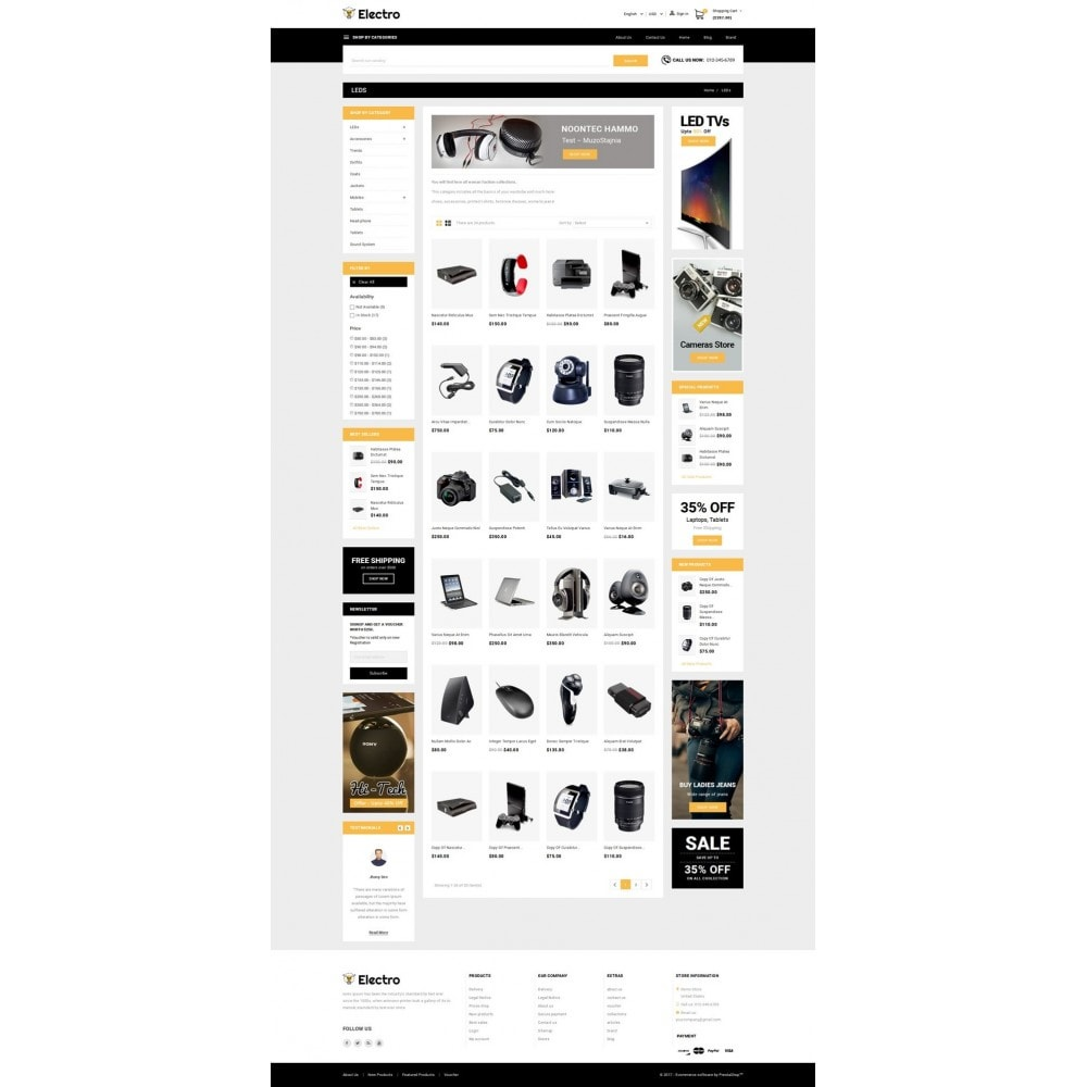 theme - Electronique & High Tech - Electro - Best Online Store - 3