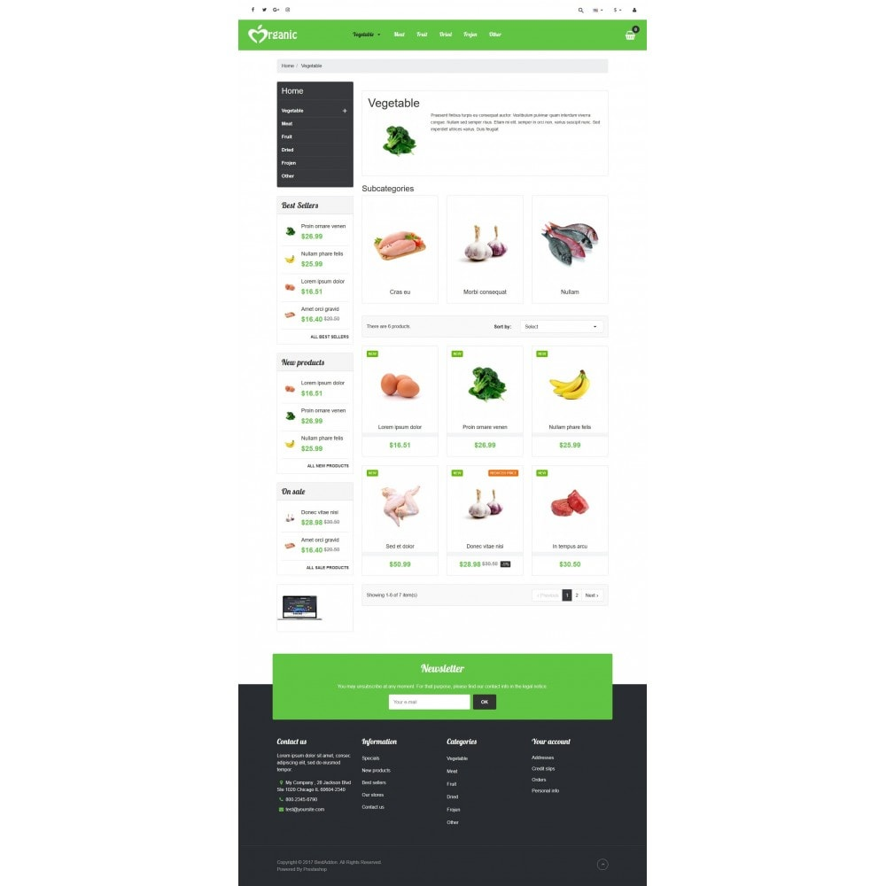 theme - Lebensmittel & Restaurants - VP_Organic Store - 3